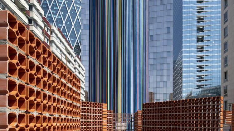 Hector Zamora, Zig Zag. Paris La Défense