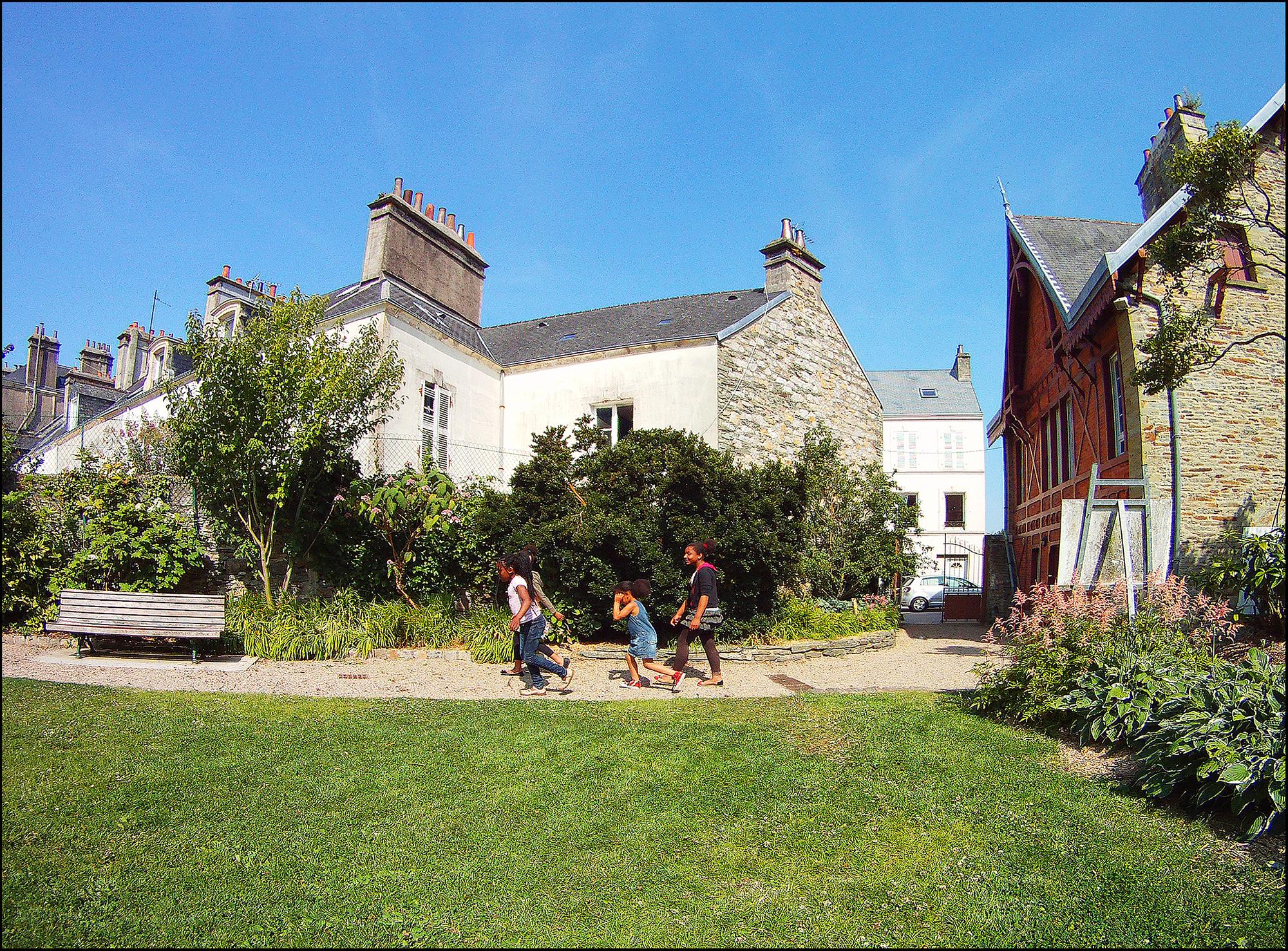 Jardin Montebello Cherbourg
