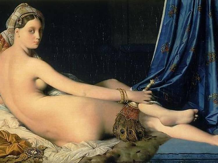 La Grande Odalisque, Jean-Auguste-Dominique Ingres, 1814