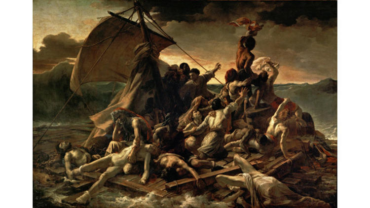 © 2010 Musée du Louvre / Angèle Dequier Théodore Géricault, 'Le Radeau de la Méduse', 1819
