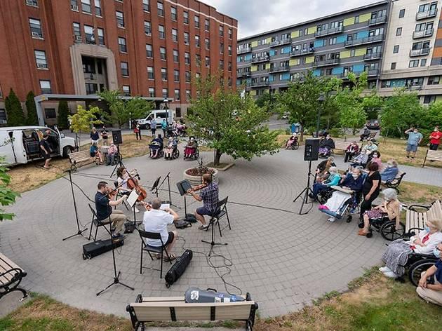 The Orchestre symphonique de Montréal is doing surprise pop-up performances across the city