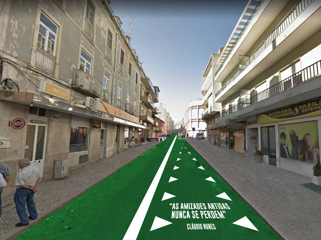 Projecto da Rua Cláudio Nunes