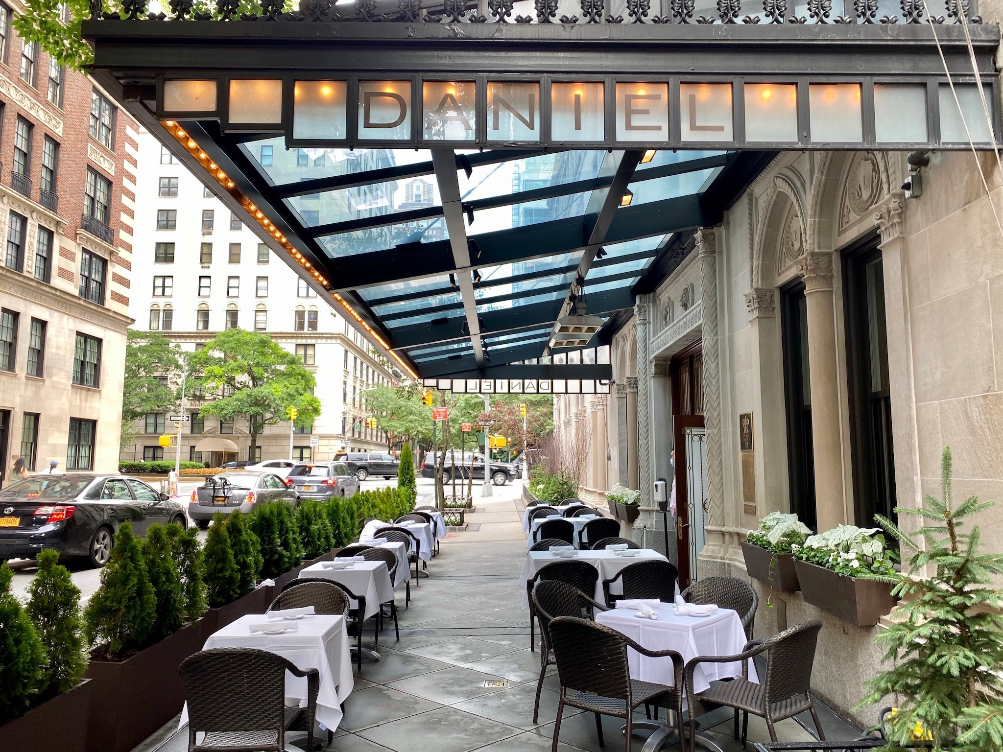 One of New York's most lauded Michelin-starred restaurants jumps into outdoor dining