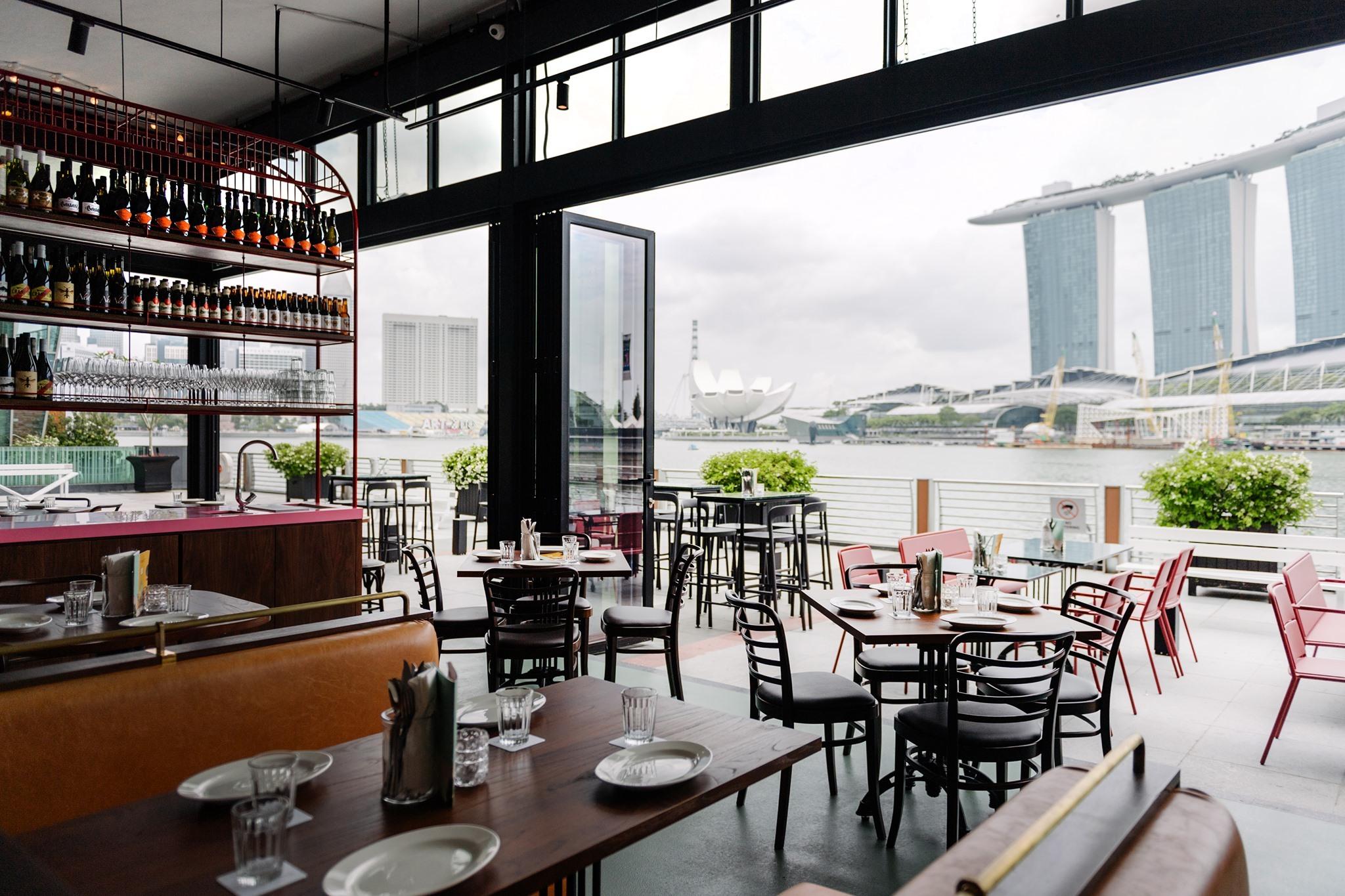 The best alfresco bars in Singapore