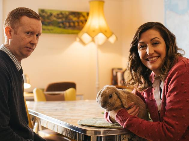 Celia Pacquola and Luke McGregor in Rosehaven