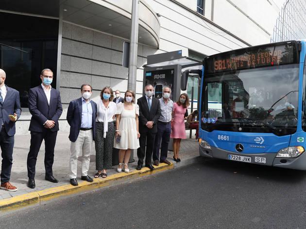 Autobús inteligente Madrid