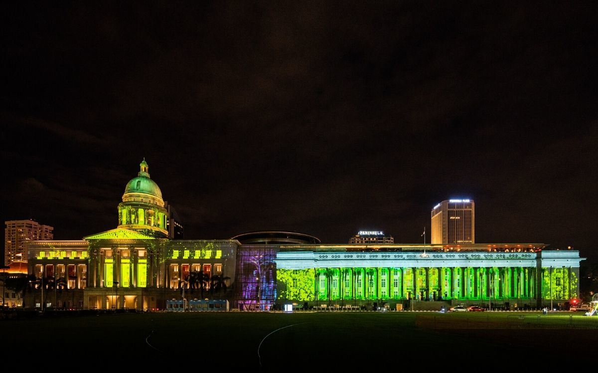 National Gallery Singapore launches an open call for its National Day light up