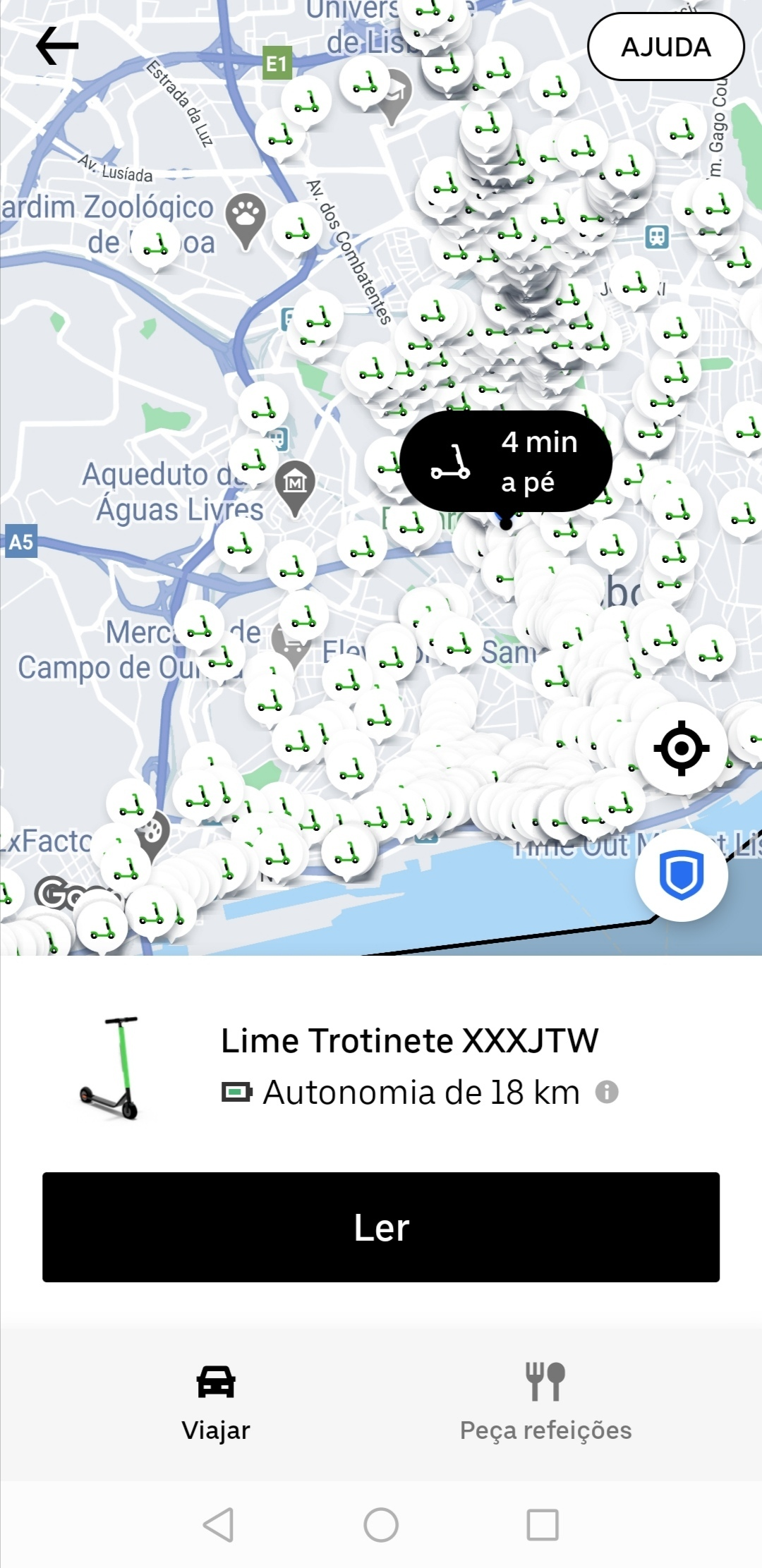 Lime - Uber