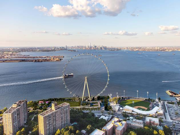 Staten Island, New York City, Pete Davidson, Saturday Night Live, New York Wheel, London Eye