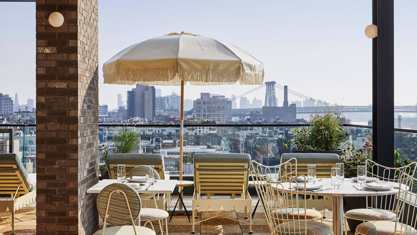 Summerly, the Hoxton's panoramic rooftop, reopens this weekend