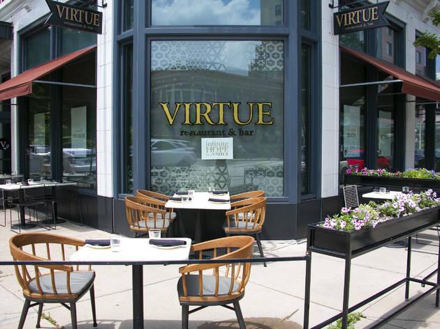 virute, patio