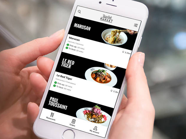 How to order at Time Out Market Montréal for dining, takeout and delivery