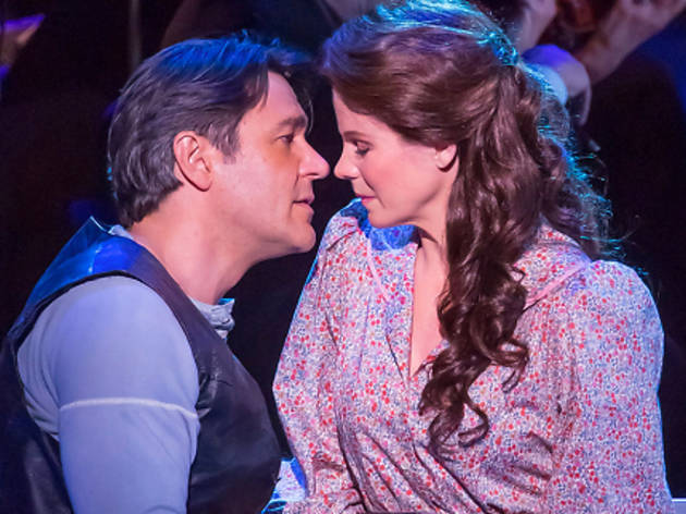 Nathan Funn and Kelli O'Hara in Carousel (2013)