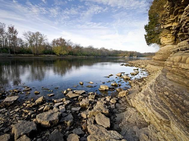 Kankakee River at Kankakee River State Park