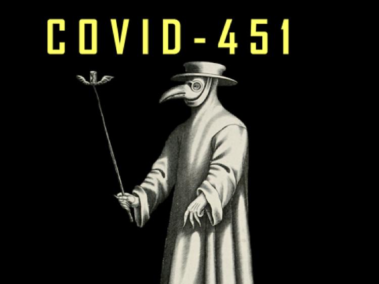 El COVID encima del escenario