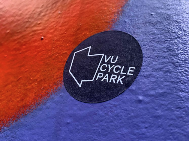 Village Underground has been turned into a cycle park until it reopens to clubbers