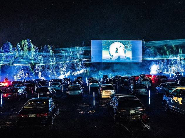 Trip out this weekend at a psychedelic drive-in movie theatre with cartoons and costumes