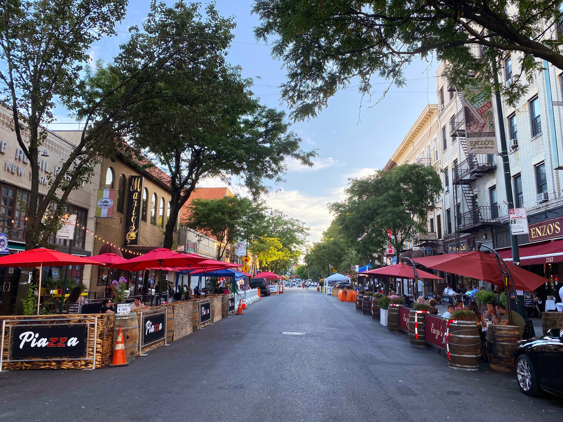 The 9 best streets for outdoor dining in NYC this summer