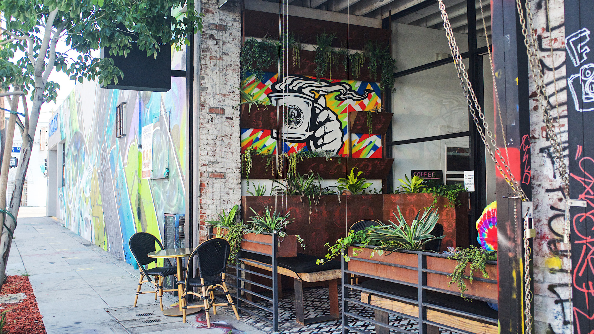Guerrilla Tacos launches a patio coffee shop
