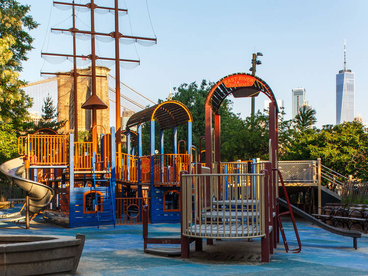 Head to the best playgrounds in the city