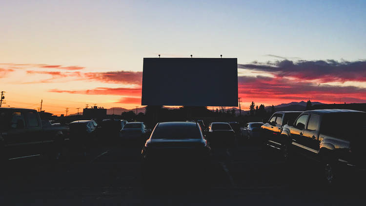 Mission Tiki Drive-In Theatre