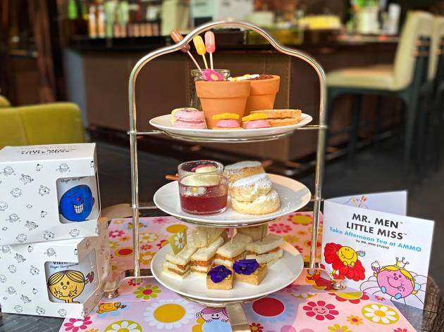 Ammo launches Mr. Men-themed afternoon tea set