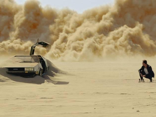 Delorean in the desert
