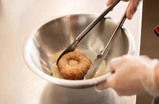 Comeco Foods Coating donut (Photograph: Daniel Boud)