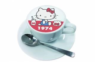 Hello Kitty Narita airport cafe