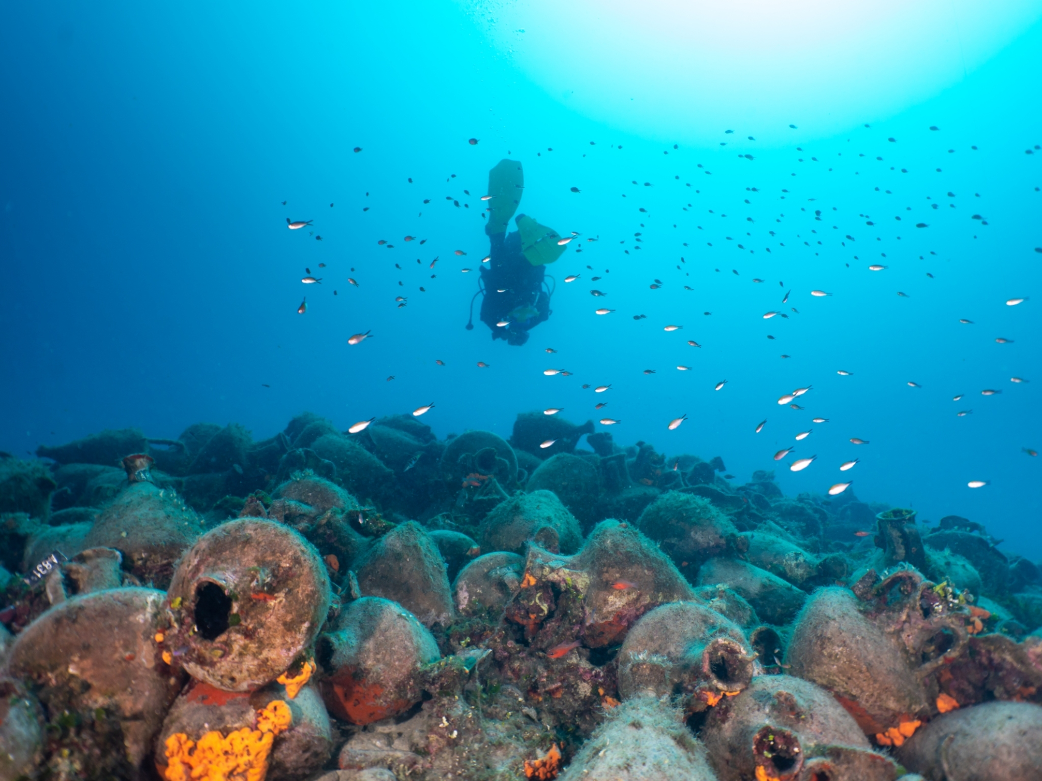 An ancient shipwreck in Greece is becoming an underwater museum