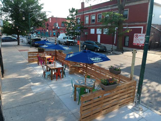 Little Village, outdoor dining, Mike Moreno, Osito's Tap