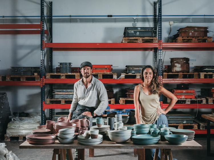 As cerâmicas dos chefs em casa: Studioneves lança primeira colecção que todos podem comprar
