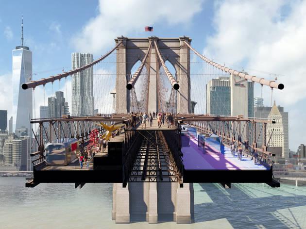 New York, Brooklyn Bridge, The Van Alen Institute, New York City Council, the High Line