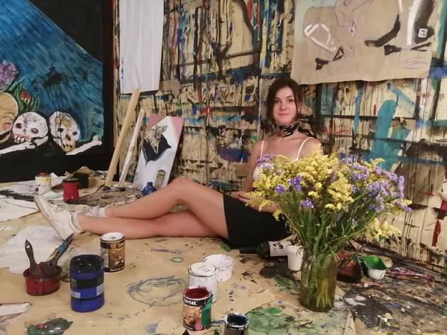 Exposição de Berri Blue na Urtiga Gallery