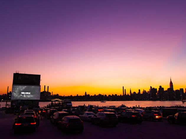Drive-in theaters near NYC