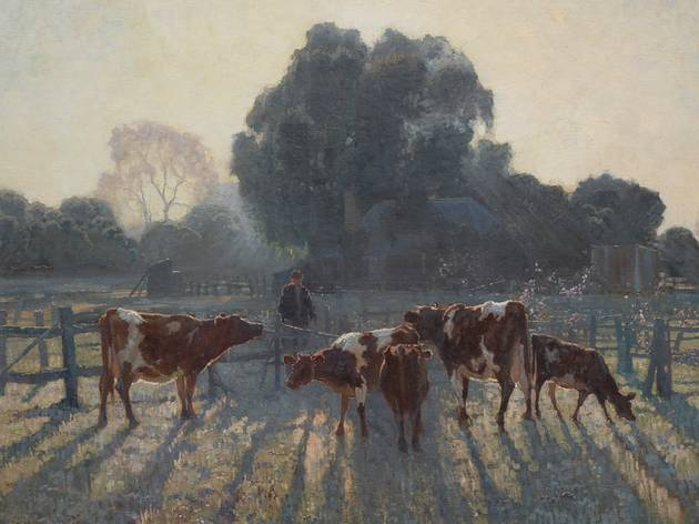 Elioth Gruner 'Spring frost' 1919, Art Gallery of NSW
