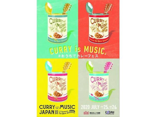CURRY&MUSIC JAPAN at HOME