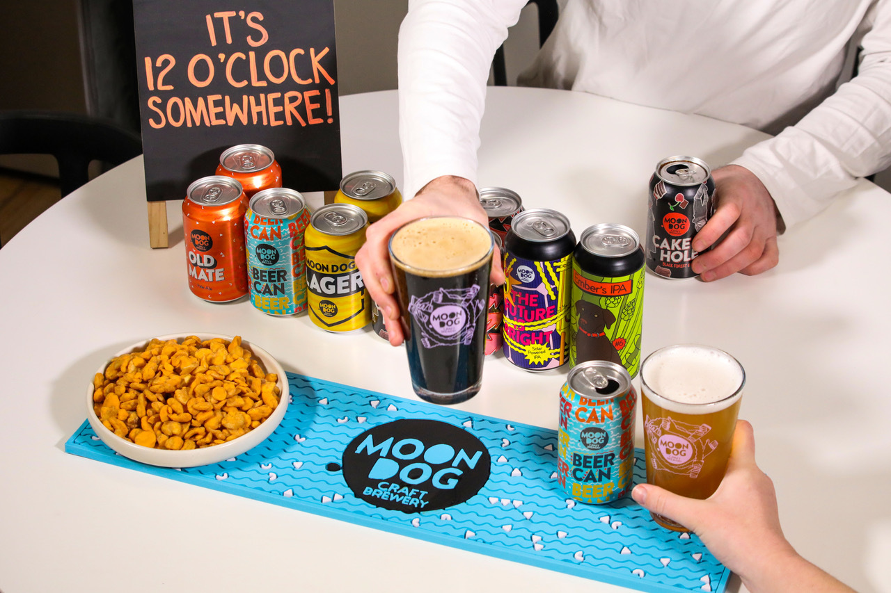 Moon Dog Brewery pub in a box