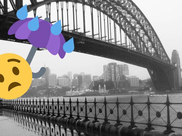 13 etiquette rules for when it rains in Sydney