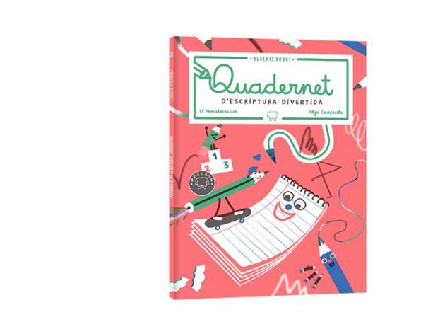 Quadernet d'escriptura divertida