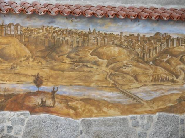 Así luce el lienzo de la muralla cristiana.