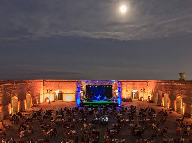 Sala Barcelona concert at Castell de Montjuïc, summer 2020