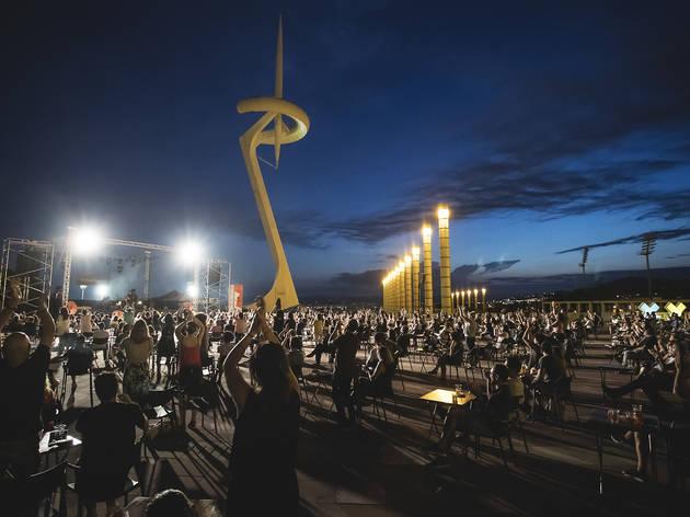 Cruïlla XXS concert at Olympic Ring, summer 2020