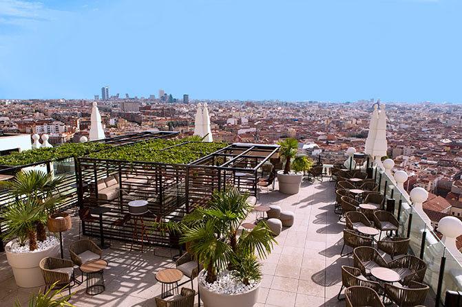 Riu Plaza España terrace