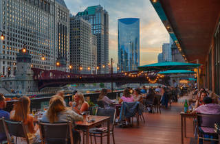 River Roast, waterfront dining, outdoor patio