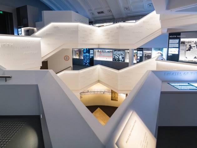 Interior of Sydney Jewish Museum