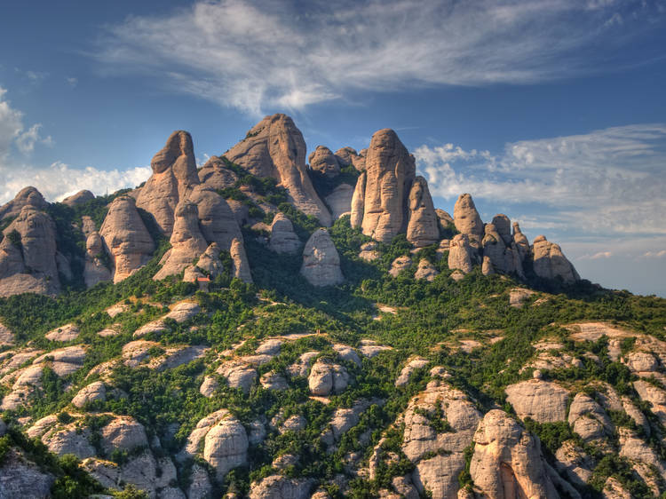 Haced un picnic en Montserrat