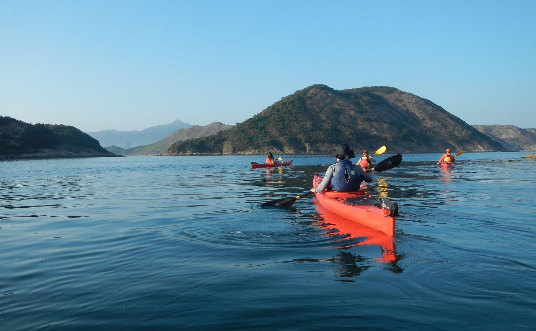 Best kayaking spots in Hong Kong