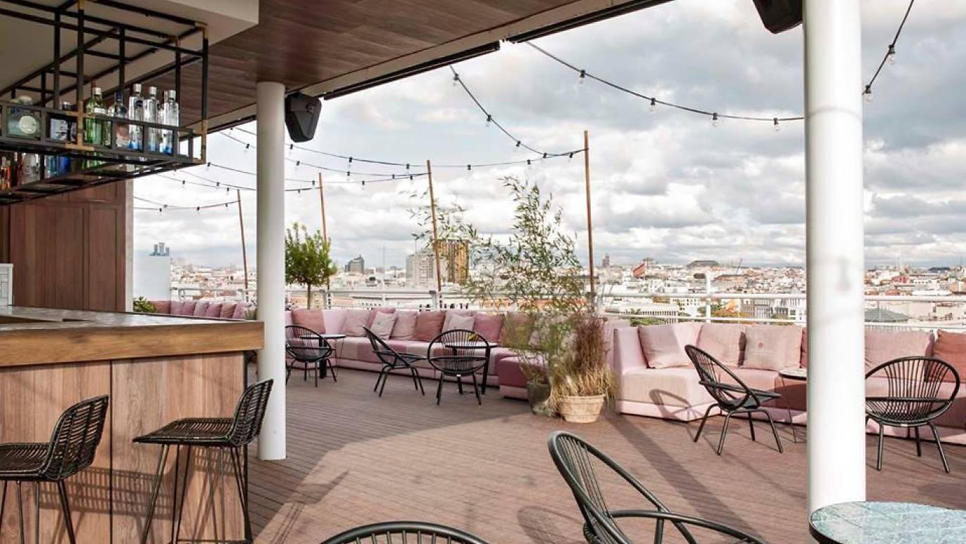 Casa Suecia terrace