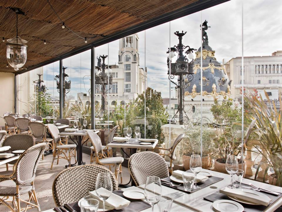 The Principal Hotel terrace